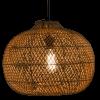 Afbeelding van Hanglamp Snake (appel) rotan 40x30 510053