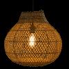 Afbeelding van Hanglamp Doetinchem (peer) rotan 40x40 510055