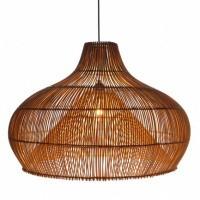Foto van Rotan hanglamp Twisk naturel 510096 70cm