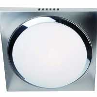 Foto van Steinhauer Ceiling and wall LED Chroom Plafondlamp 1-lichts 1369ST