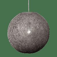 Foto van Hanglamp Abaca doorsnede in cm 35 beton 31535003