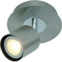 Foto van Freelight Scoop Staal Spot,Plafondlamp 10cm PL7401S