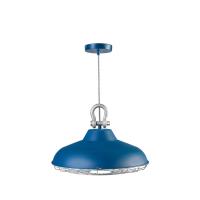 Foto van Hanglamp Industry 05-HL4366-35 45cm mat blauw