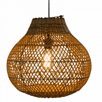 Foto van Hanglamp Doetinchem (peer) rotan 40x40 510055
