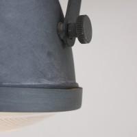Foto van Steinhauer Mexlite Grijs Wandlamp 2-lichts 1312GR