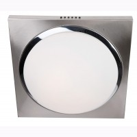 Foto van Steinhauer Ceiling and wall LED Staal Plafondlamp 2-lichts 1370ST