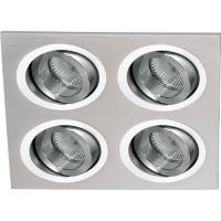 Foto van Masterlight Di Moda Aluminium Spots,Spots Inbouw 5084-37