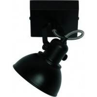 Foto van Freelight Santo Zwart Spot,Plafondlamp PL7601Z