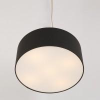 Foto van Steinhauer Gramineus Zwart Plafondlamp 1-lichts 9688W
