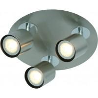 Foto van Freelight Scoop Staal Spot,Plafondlamp 10cm PL7403S