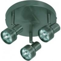 Foto van Freelight Salento Staal Spot,Plafondlamp 19cm PL8203S