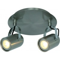 Foto van Freelight Felice Staal Spot,Plafondlamp 17cm PL9302S