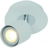 Foto van Freelight Scoop Wit Spot,Plafondlamp 13cm PL7401W