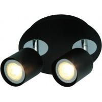 Foto van Freelight Scoop Zwart Spot,Plafondlamp 24cm PL7402Z
