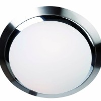 Foto van Steinhauer Ceiling and wall LED Chroom Plafondlamp 2-lichts 1367ST