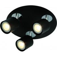 Foto van Freelight Scoop Zwart Spot,Plafondlamp 24cm PL7403Z
