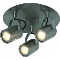 Foto van Freelight Felice Staal Spot,Plafondlamp 19cm PL9303S