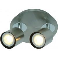 Foto van Freelight Scoop Staal Spot,Plafondlamp 10cm PL7402S
