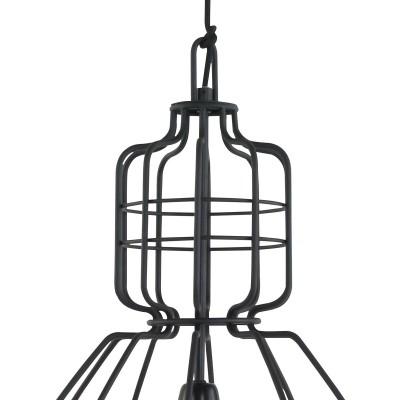 Steinhauer mark III Zwart Hanglamp 1-lichts 7872ZW