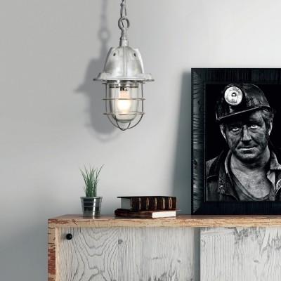 Steinhauer Tuk Staal Hanglamp 1-lichts 7540ST