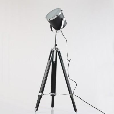 Steinhauer Mexlite Zwart Vloerlamp 1-lichts 7613ZW