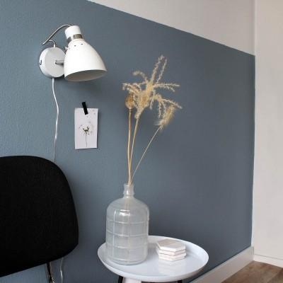 Steinhauer Spring Wit Wandlamp 1-lichts 6291W