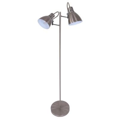 Steinhauer Spring Staal Vloerlamp 2-lichts 1317ST