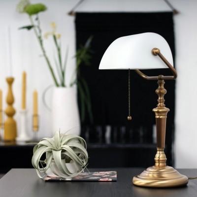 Steinhauer Ancilla Brons Tafellamp 1-lichts 6186BR