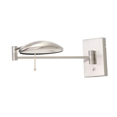Steinhauer Diamond LED Staal Wandlamp 1-lichts 7959ST