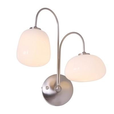 Steinhauer Bollique LED Staal Wandlamp 2-lichts 1444ST