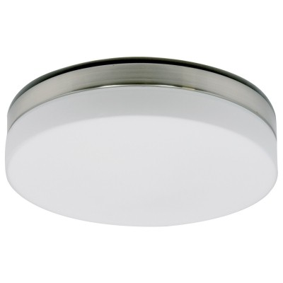 Steinhauer Ceiling and wall LED Staal Plafondlamp 3-lichts 1364ST