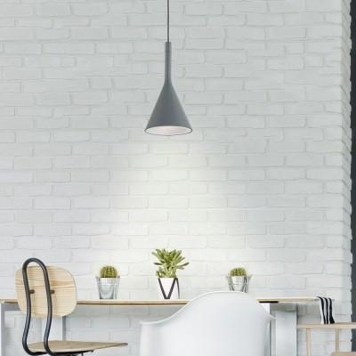 Steinhauer Cornucopia Grijs Hanglamp 1-lichts 7806GR