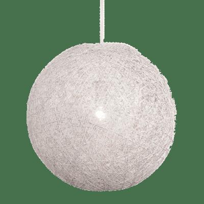 Hanglamp Abaca doorsnede in cm 35 wit 31535001