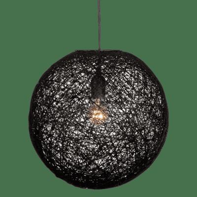 Hanglamp Abaca doorsnede in cm 35 zwart 31535002