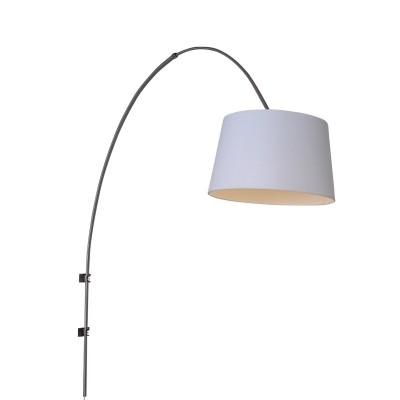 Steinhauer Gramineus Staal Wandlamp Booglamp met Kap 1-lichts 9942ST