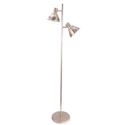 Steinhauer Parade Staal Vloerlamp 2-lichts 6521ST