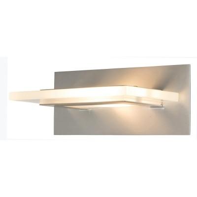 Steinhauer Favourite LED Staal Wandlamp 1-lichts 7403ST