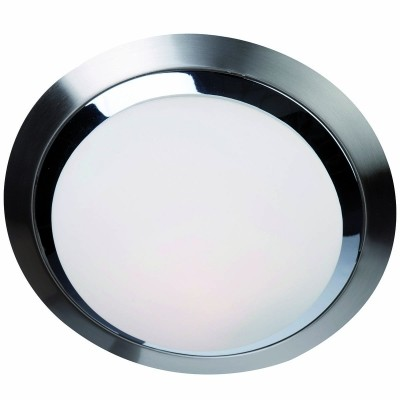 Steinhauer Ceiling and wall LED Chroom Plafondlamp 1-lichts 1366ST