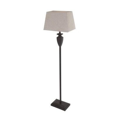 Steinhauer Bloom Bruin Vloerlamp 1-lichts 1356B
