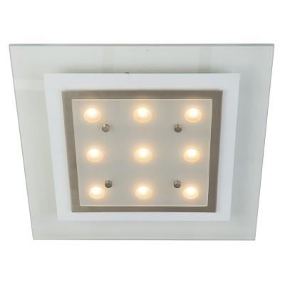 Steinhauer Favourite LED Transparant Plafondlamp 1-lichts 7479ST