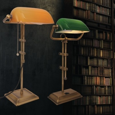 Steinhauer Ancilla Brons Tafellamp 1-lichts 7735BR