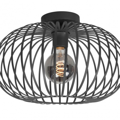 plafondlamp Balloon 30cm zwart