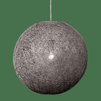 Hanglamp Abaca doorsnede in cm 35 beton 31535003
