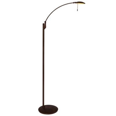 Steinhauer Zenith LED Brons Vloerlamp 1-lichts 7862BR
