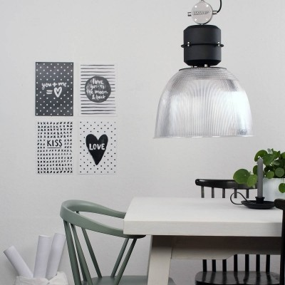 Steinhauer clearvoyant Transparant Hanglamp 1-lichts 7695ZW