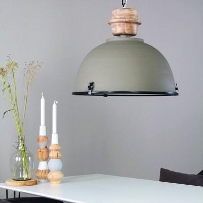 Steinhauer Bikkel Grijs Hanglamp 1-lichts 1459GR