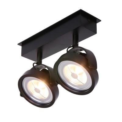 Steinhauer Mexlite Zwart Spot 2-lichts 1451ZW
