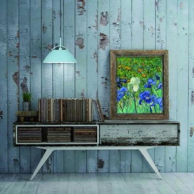 Steinhauer Whistler Blauw Hanglamp 1-lichts 7286BL