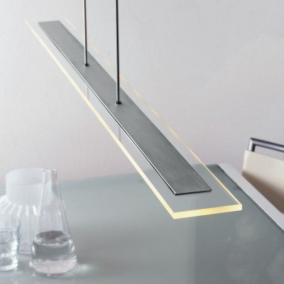 Hangl. 10-led 140cm clear glass 1728ST