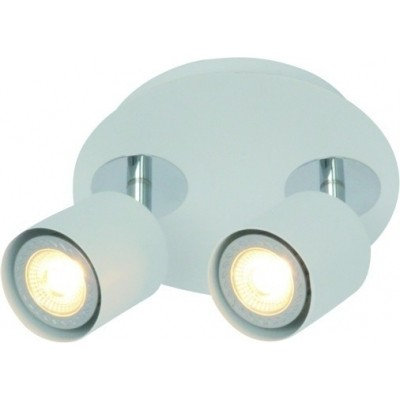 Freelight Scoop Wit Spot,Plafondlamp 13cm PL7402W